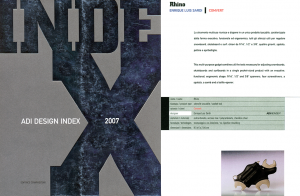 ADI DESIGN INDEX 2007 - RHINO bastard
