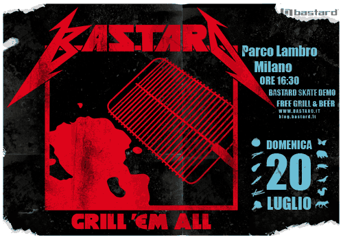 Grill'Em All - July 20th, Parco Lambro - Milano