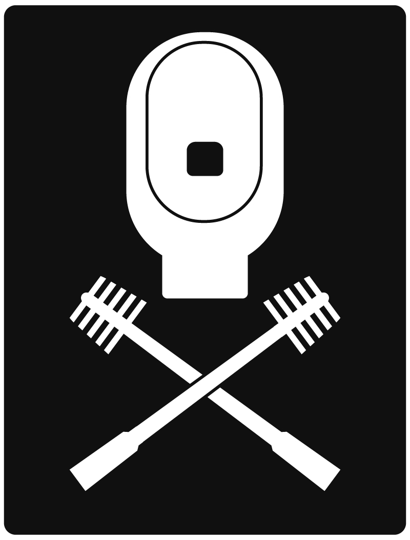Scopettone (toilet sign)