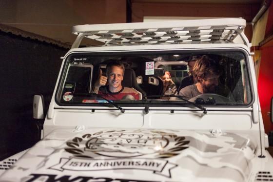The super pimped Land Rover.  Photo © Giuliano Berarducci