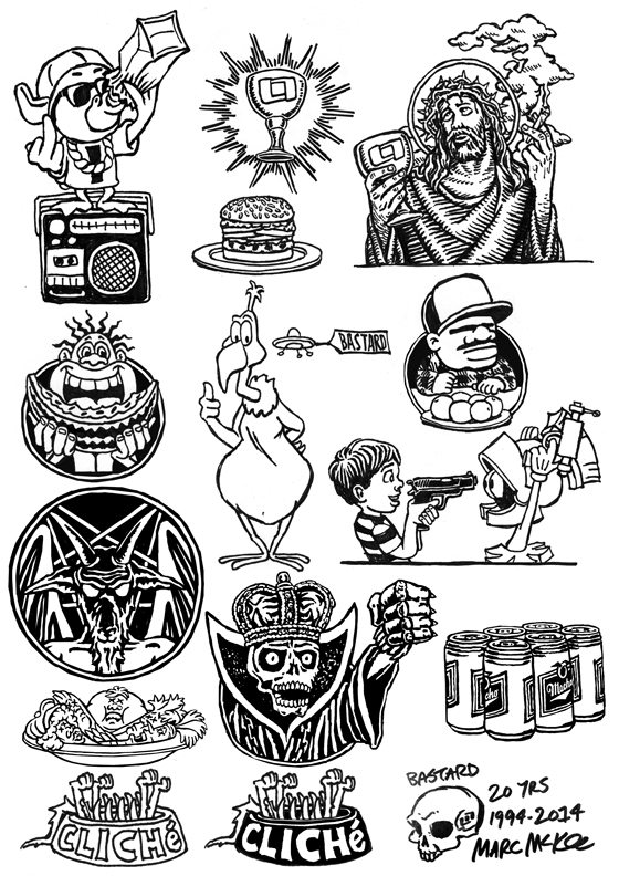 Last-Supper-tattoo-flash-McKee