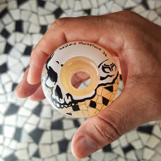 Muckefuck x bastard marble wheel 54mm