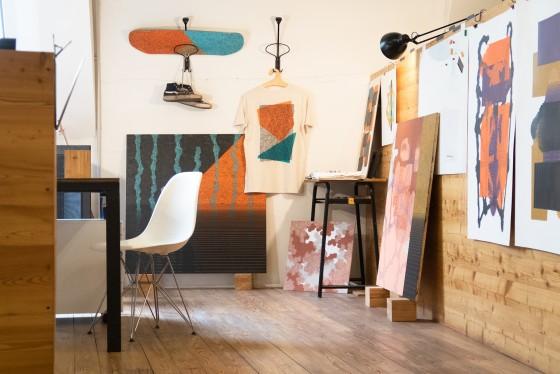 Mattia Turco resident artist 3x3x3